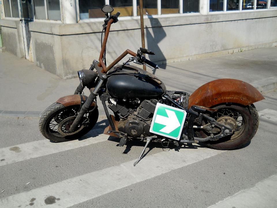 故障 バイク ボロボロ