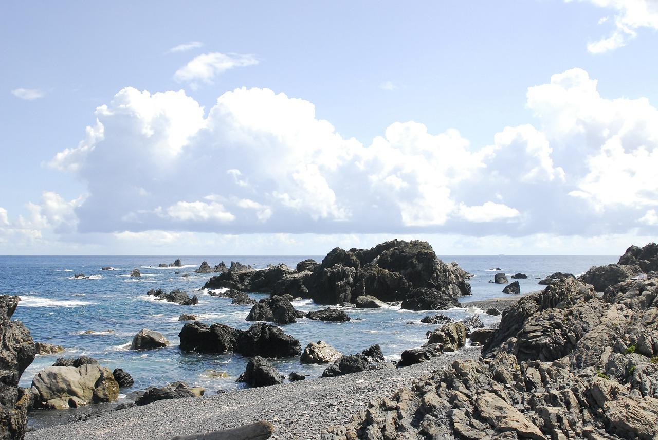 高知県室戸岬 海 空