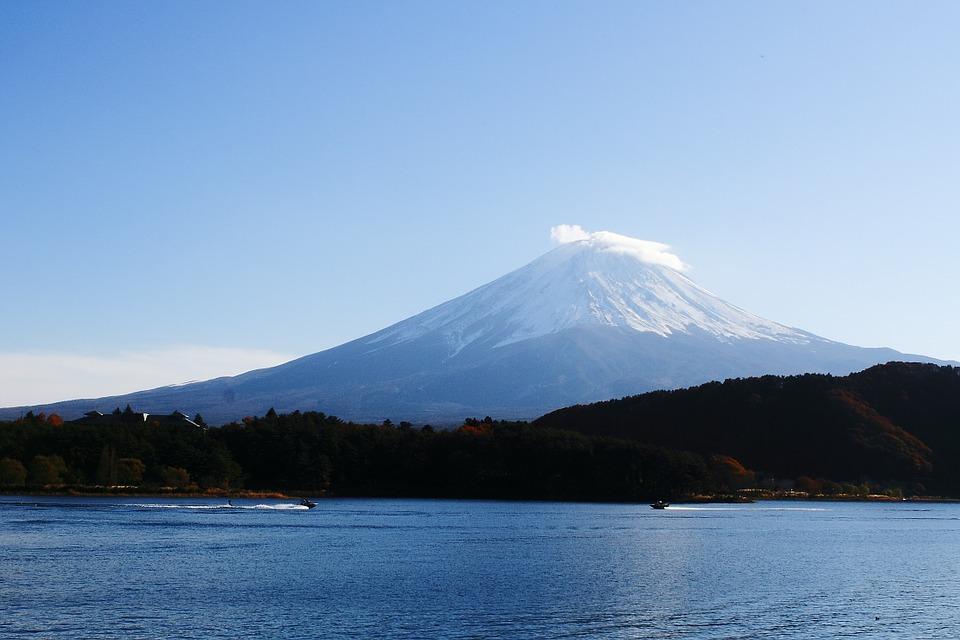 富士山 河口湖 山梨県