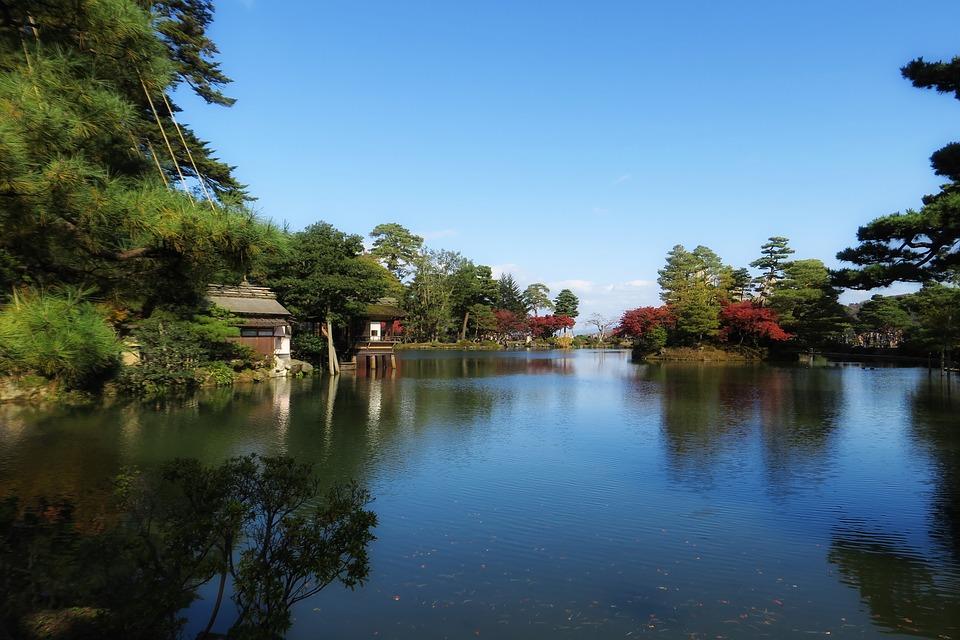 石川県金沢市 兼六園 日本庭園