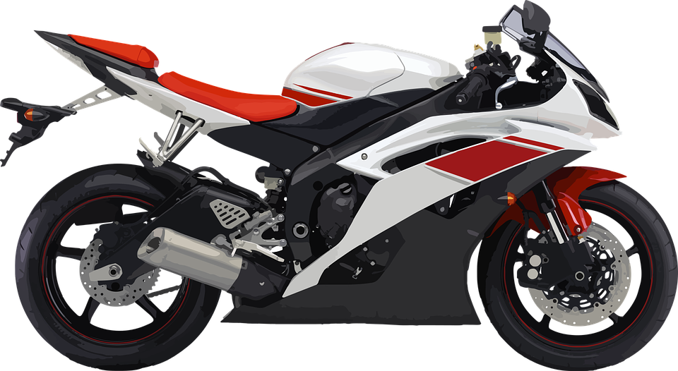 エンジン オートバイ スポーツ モーター 白