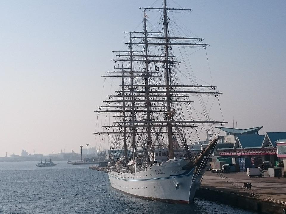 船 日本丸 海 鹿児島