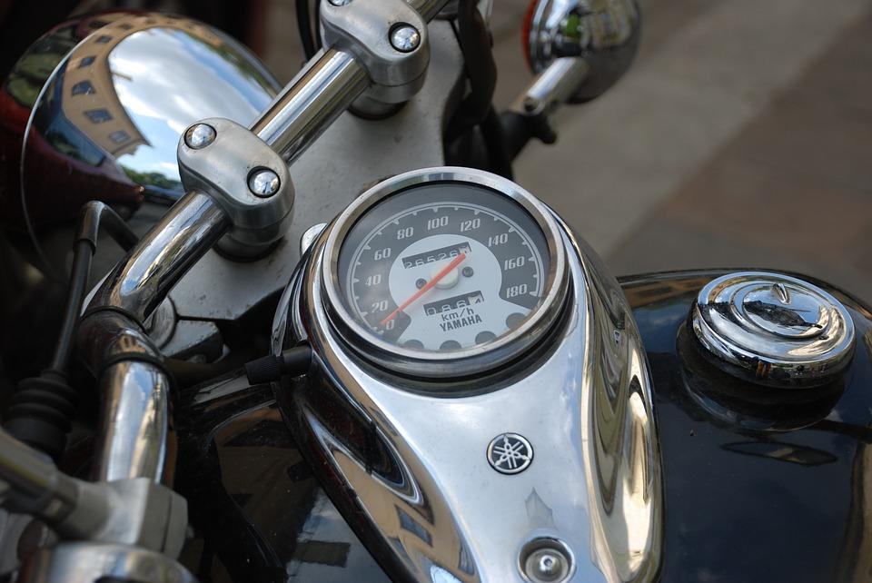 オートバイ 速度 バイク スピード メーター スポーツ 光